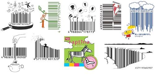 Illustrated barcodes