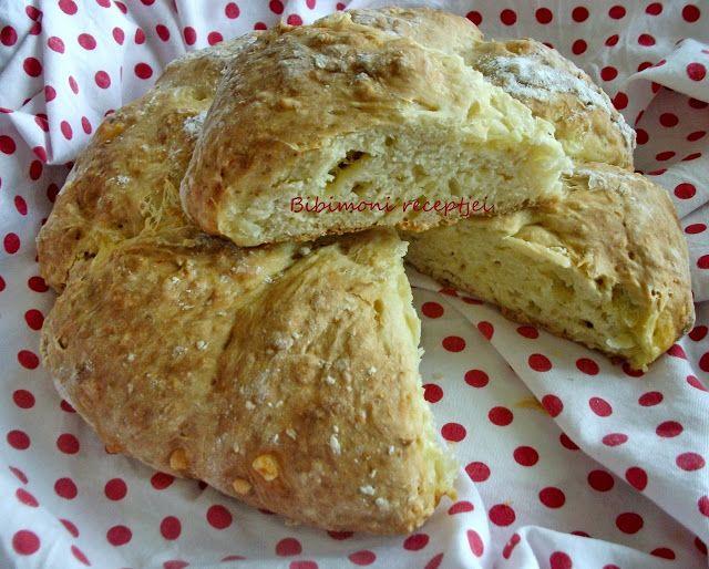 Bibimoni Receptjei: Ír szódás kenyér sajttal