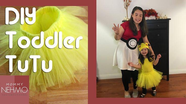 DIY Toddler TuTu / Halloween 2016