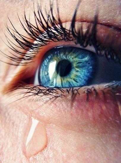 красивые картинки заплаканные глаза