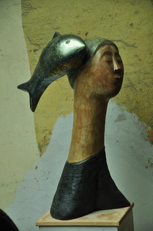 "Saatchi Online Artist: paolo figar; Wood, Sculpture ""oceans"""