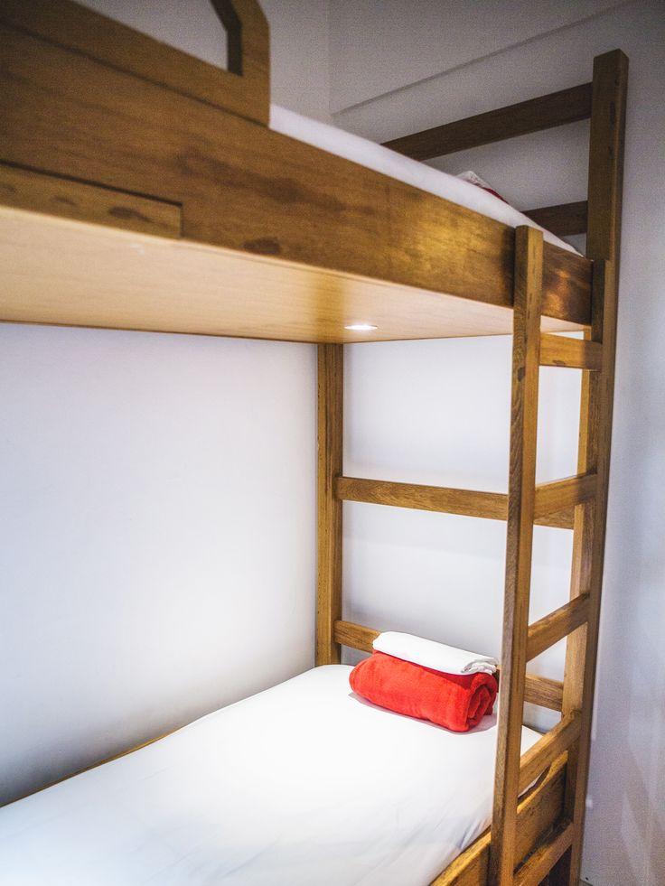 Bunkbed Best Point Ipanema 1 - Quarto beliche privativo com banheiro compartilhado em Ipanema.