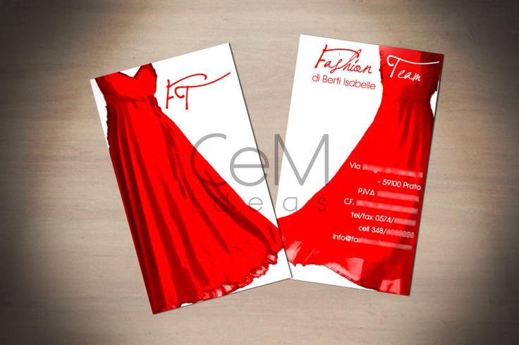#fashion #visitcard