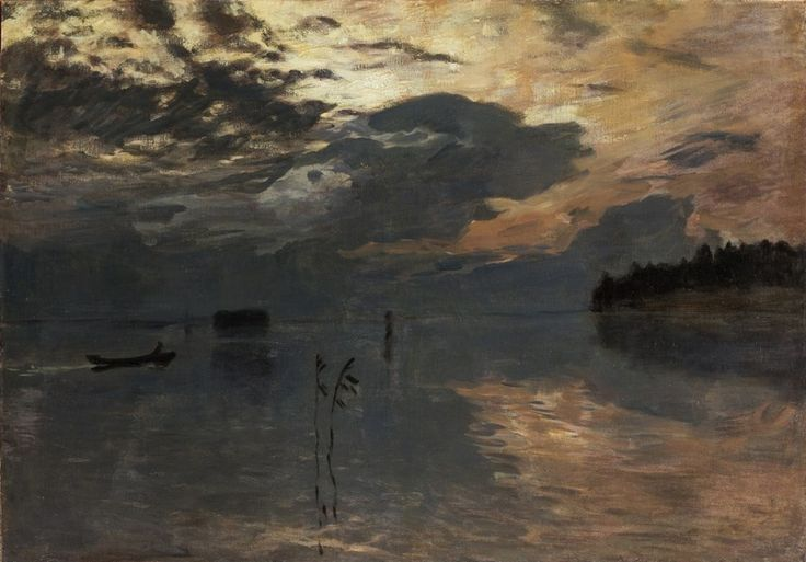 lilithsplace:'Twilight on the Water', 1895-99 – Isaac Levitan (1860–1900)