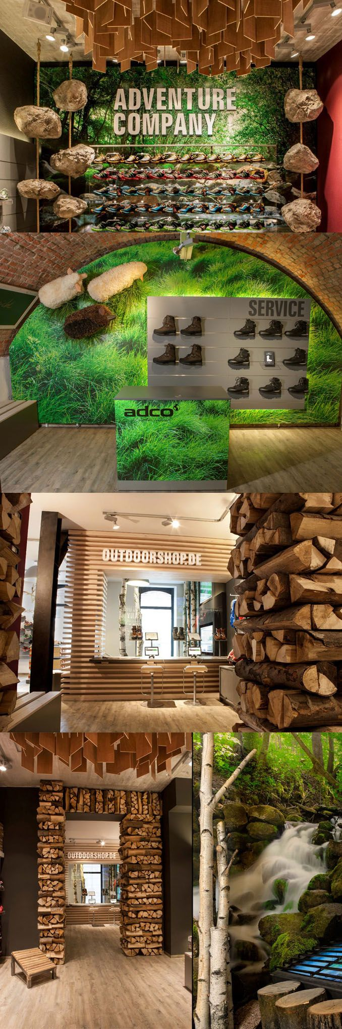 ADCO outdoor store by K.U.L.T.OBJEKT, Freiburg – Germany.