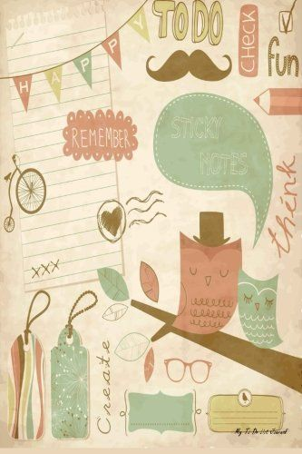 My To Do List Journal: Vintage Scrapbook, 6 x 9, 100 Days, To Do List Planner