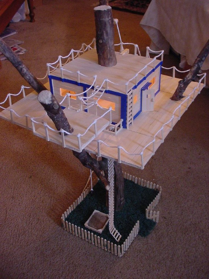 17 best images about projects on pinterest table and for How to build a treehouse with sticks