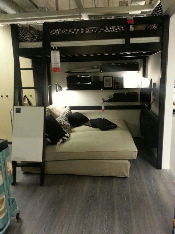 Desk Beds Loft For Small Rooms Man Cave