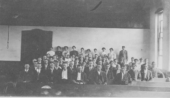clay county school teachers 1916