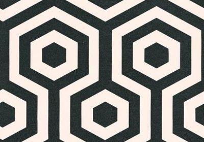 Hexagono 1961 2 Tres Tintas Wallpapers A Funky Geometric