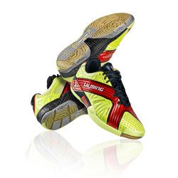 2012 Salming X-Factor Shoes JR Yellow/Red