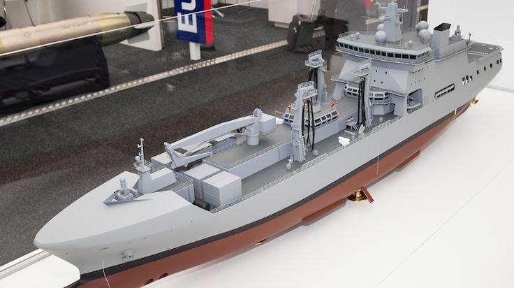 FDRA - Fuerza Naval: Se revela proyecto de buque logístico para Australia