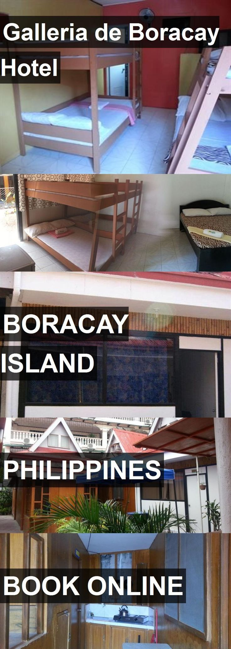 Hotel Galleria de Boracay Hotel in Boracay Island, Philippines. For more information, photos, reviews and best prices please follow the link. #Philippines #BoracayIsland #GalleriadeBoracayHotel #hotel #travel #vacation