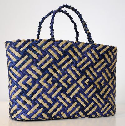 Weaver - Lisa McKendry, Ngati Porou Flounder pattern