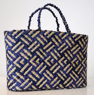 Lisa McKendry Kura Gallery Maori Art Design New Zealand Flax Harakeke Weaving Kete Patiki