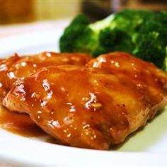 Baked Chicken Teriyaki -  we make this often! I will never buy store-bought teriyaki sauce again! Sometimes I just quickly stir fry chicken pieces in the sauce to save time.