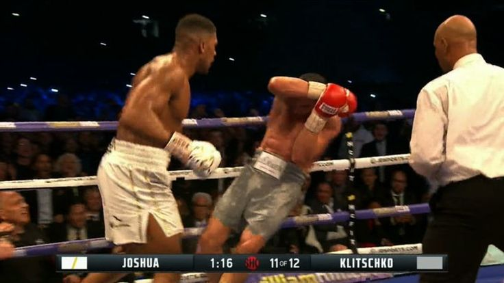 Anthony Joshua overcame being knocked down by Wladimir Klitschko in the sixth round to pummel the Ukrainian legend and earn an 11th-round TKO, improving his career record to 19-0 with 19 knockouts.