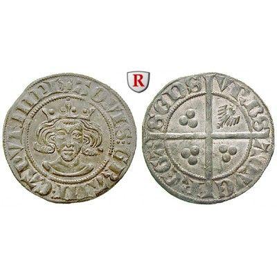 Aachen, Stadt, Wilhelm II., Herzog von Jülich, Doppelsterling, vz+: Wilhelm II., Herzog von Jülich 1361-1393. Doppelsterling 24 mm.… #coins