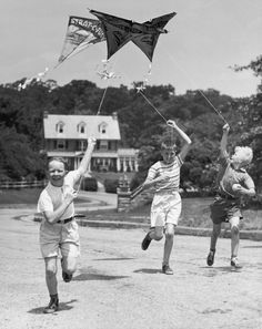 Do something carefree this summer, like flying a kite!