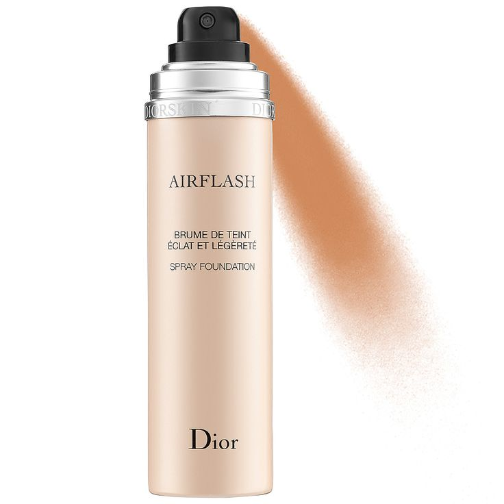 Dior Diorskin Airflash Spray Foundation delivers a runway-ready airbrushed effect with precision and ease. Find Diorskin Airflash at Sephora today.