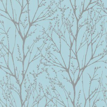I Love Wallpaper Shimmer Wallpaper Teal / Silver This is a lovely tactile wallpaper to start your mint dream decor
