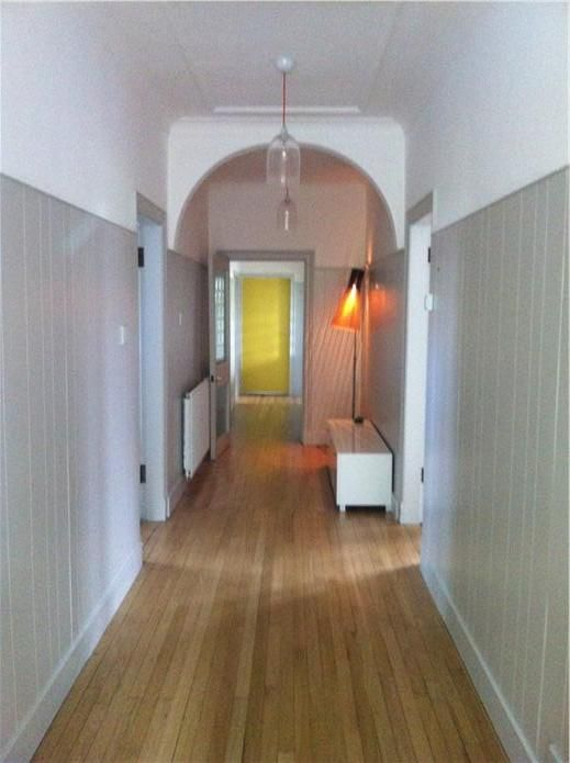Paneling is Cornforth White Above and on ceiling is All White