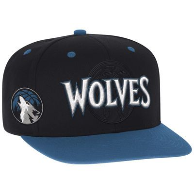 Minnesota Timberwolves adidas Youth 2016 NBA Draft Snapback Hat - Black