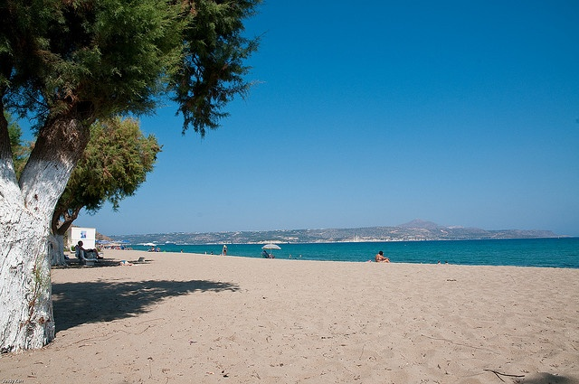 Kiani Akti beach close to villa Stratos