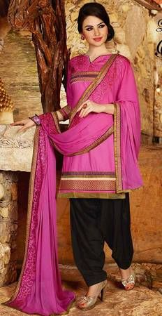 Buy Fashionnow Embroidered Patiala Salwar Kameez Dress Material online at best prices. Get discount on Patiala Salwar Suit, Salwar Kameez with home delivery from Fashionnow.
