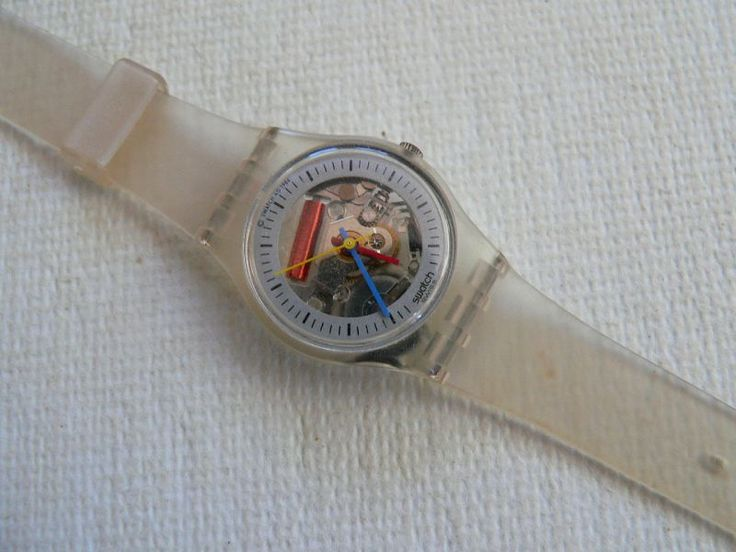 90s swatch watches | 1986 Vintage Ladies swatch watch Little Jelly LK103 .