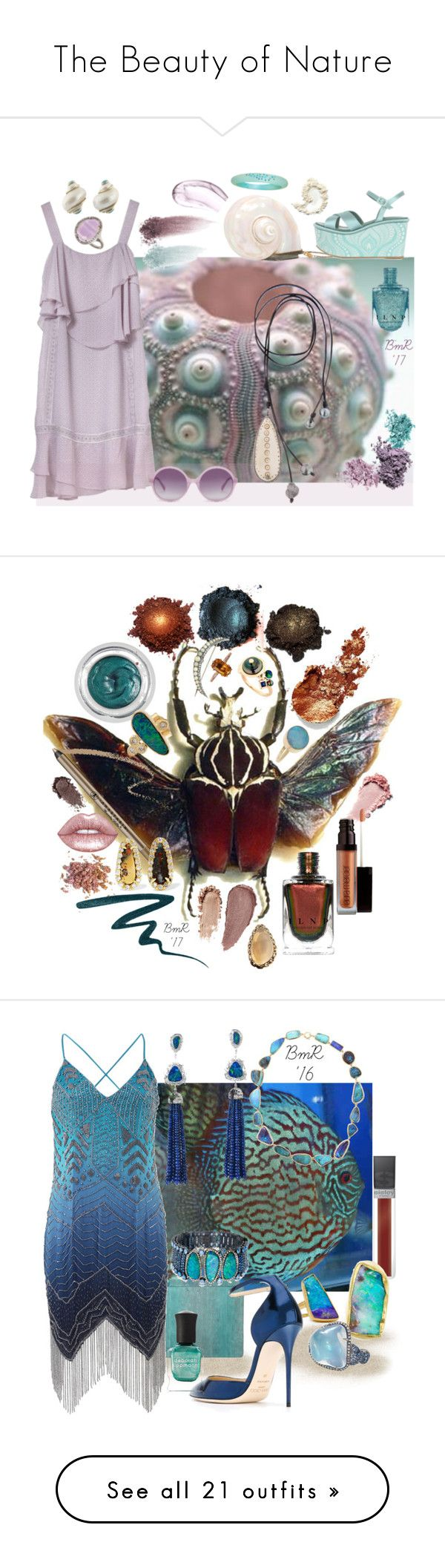 """The Beauty of Nature"" by barbmama ❤ liked on Polyvore featuring Massimo Lonardo, Chantecaille, Laura Mercier, NARS Cosmetics, Kala, Seaman Schepps, Heidi London, BillyTheTree, Phillip Gavriel and beauty"