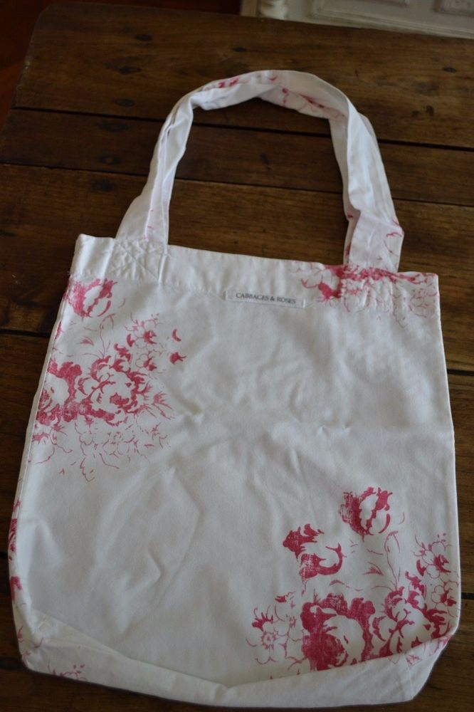 Cabbages and Roses * Hatley Cerise Bag