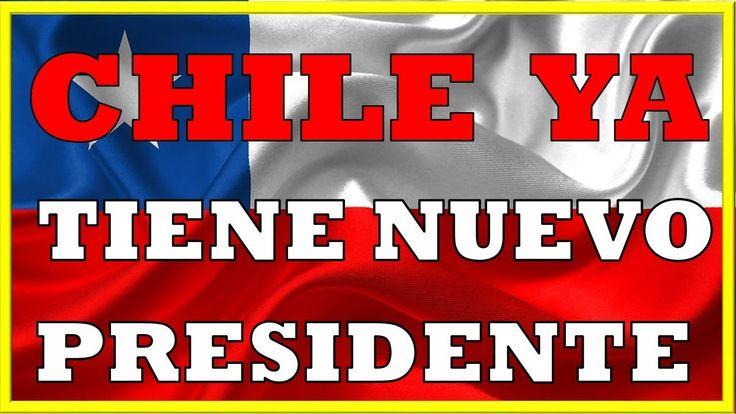 PIÑERA ELECTO COMO NUEVO PRESIDENTE DE CHILE  Noticias de Ultima Hora 17 diciembre elecciones chile