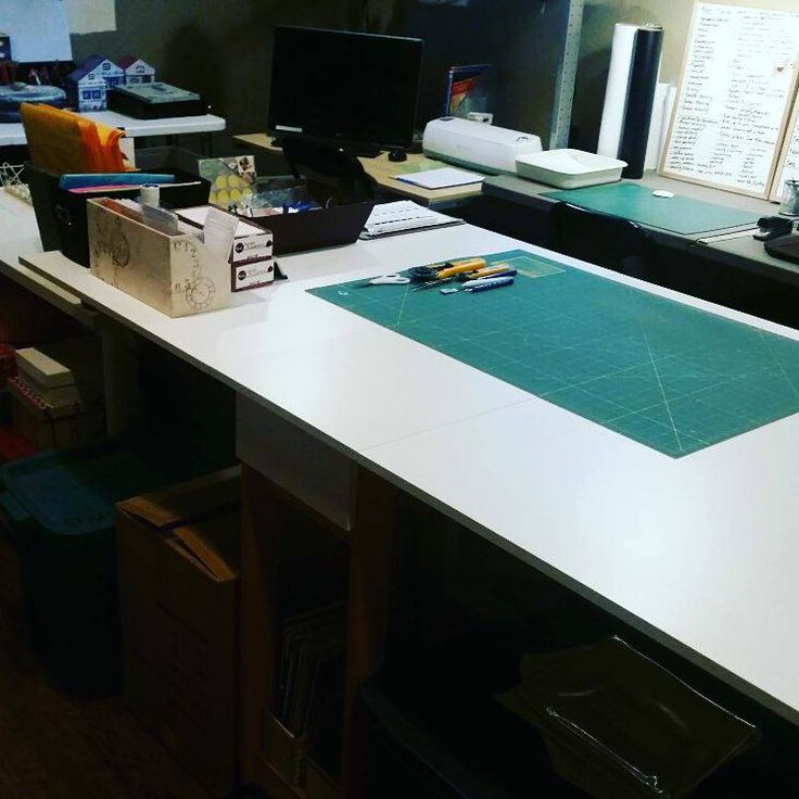 Keeping the workshop clean and organized is so important when we have so much going on! It has to be clutter free in order to create and ship orders out!