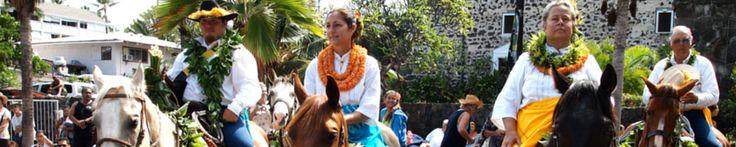 The art of wrapping the pa'u | King Kamehameha Day Celebration Parade — Kailua-Kona