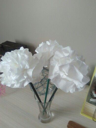 Fleur papier toillete
