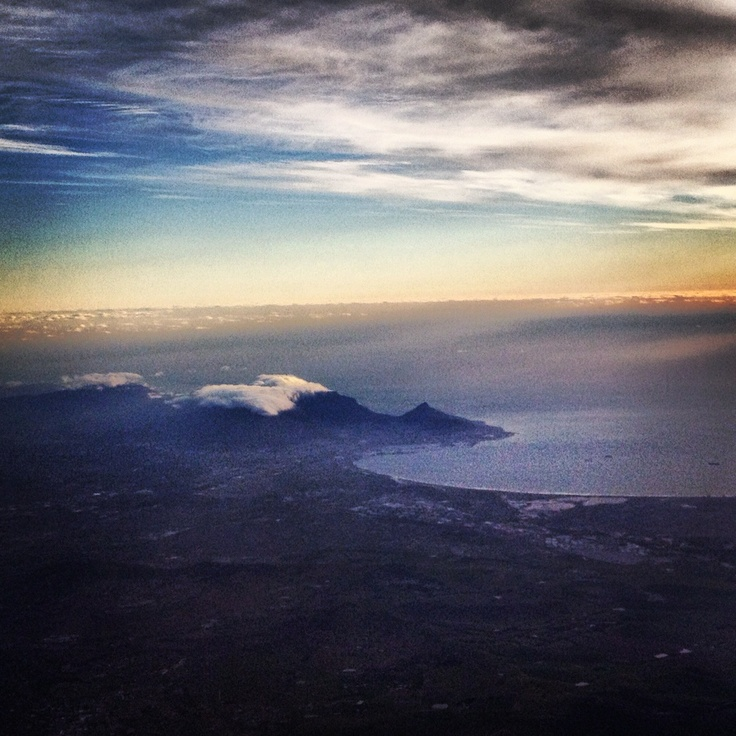 Cape Town from the sky