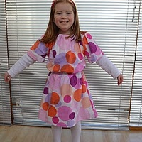 Issy's Dress - my first pattern :)
