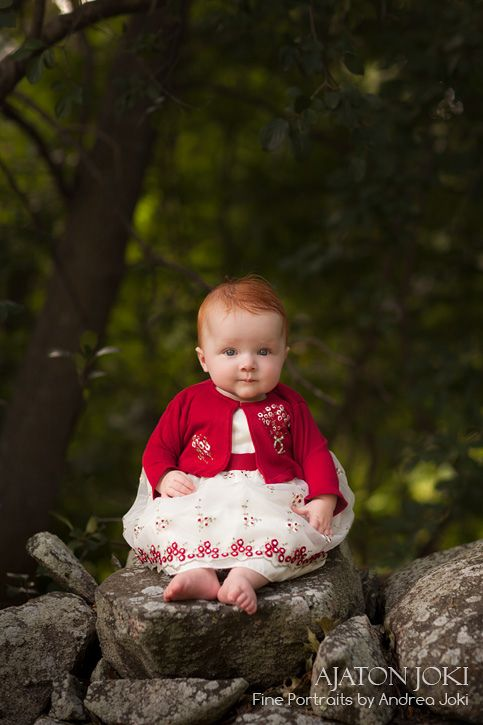 So cute! Makes me smile.  Red headed babies.