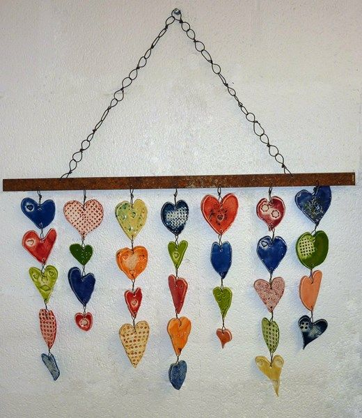 School Auction Idea. A Classroom Full of Hearts