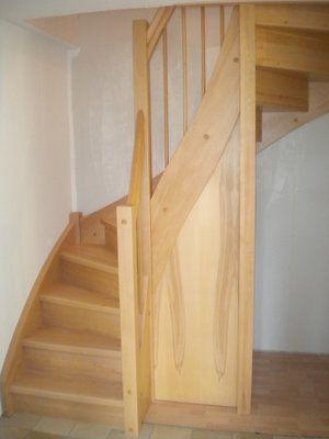 Die besten 17 ideen zu treppenverkleidung auf pinterest for Garderobe unter treppe