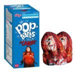 """In the past, we've seen Star Warsthemed Pop-Tarts, Spider-Man Pop-Tarts, and even Hello Kitty """"meow-berry"""" Pop-Tarts (as you might have guessed, they're pink). Basically, if you're a fan of G-rated or PG-rated material, then the Kellogg corporation has you covered. But what if your favorite pop culture icons are the bloodier, scarier, and more R-rated variety? What if your personal Hello Kitty is actually Freddy Krueger? Unfortunately, the Kellogg company isn't real..."""