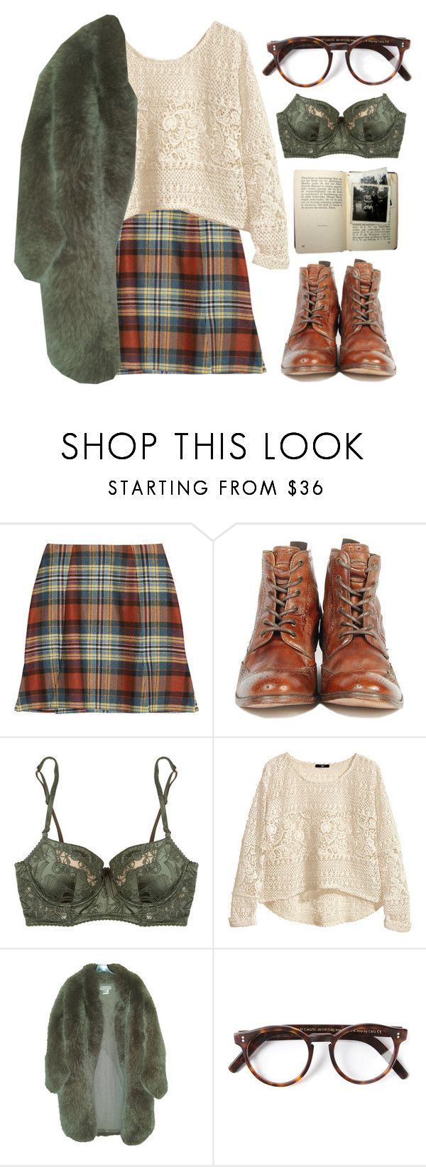 """""""Без названия #195"""" by red-moon-98 ❤ liked on Polyvore featuring Vivienne Westwood Anglomania, H by Hudson, Elle Macpherson Intimates, H&M, Paul & Joe, Cutler and Gross, women's clothing, women's fashion, women and female"""