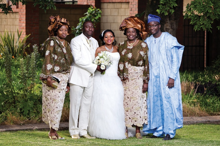 A Joyful Celebration. Ademola and Makhosi share their Real Wedding with Wedding Inspirations in the Summer (September 2012) issue. Here is a pic from their special day.