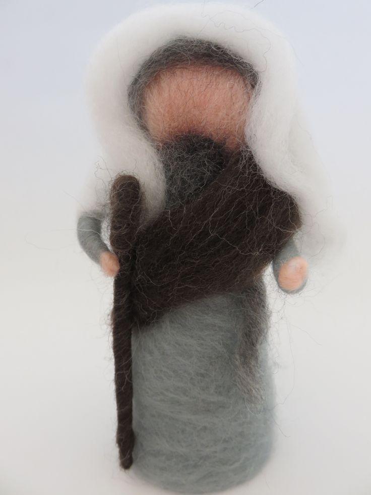Presépio lã feltrada                                                                                                                                                      Mais