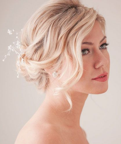 23 Easy DIY Wedding Hairstyles