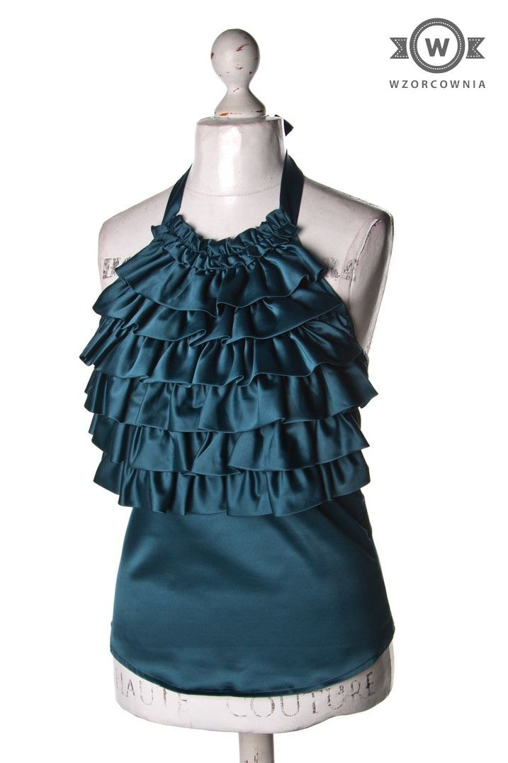 >> #Bluzka z #żabotem #VeroModa #Wzorcownia #online - #woman #blouse