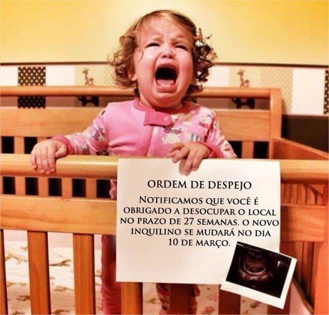 A gravidez é um dos maiores momentos da vida da mulher. Veja imagens de anúncios de gravidez em que mães inovaram na hora de comunicar a espera de um bebê.