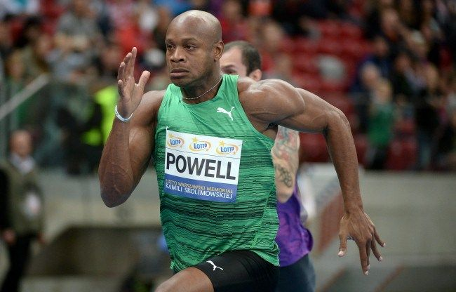 Asafa Powell runs 2nd fastest indoor 100m time in history