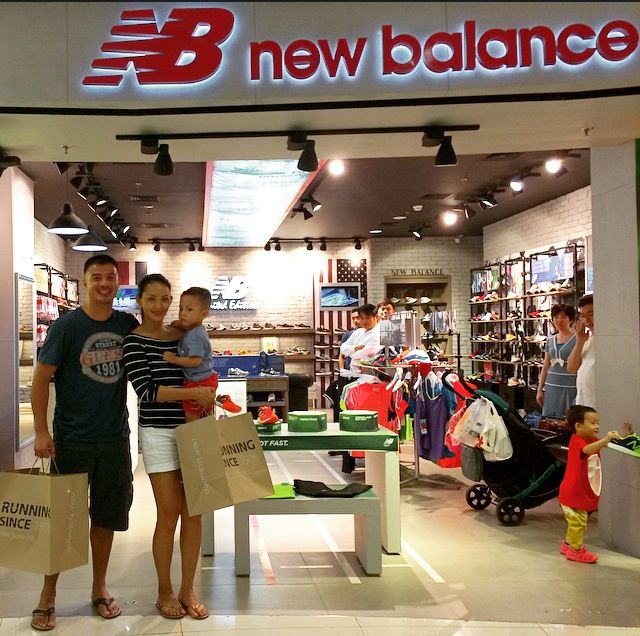 Roger Van Tongeren and Susan Bachtiar at New Balance concept store #MAPActiveFriends